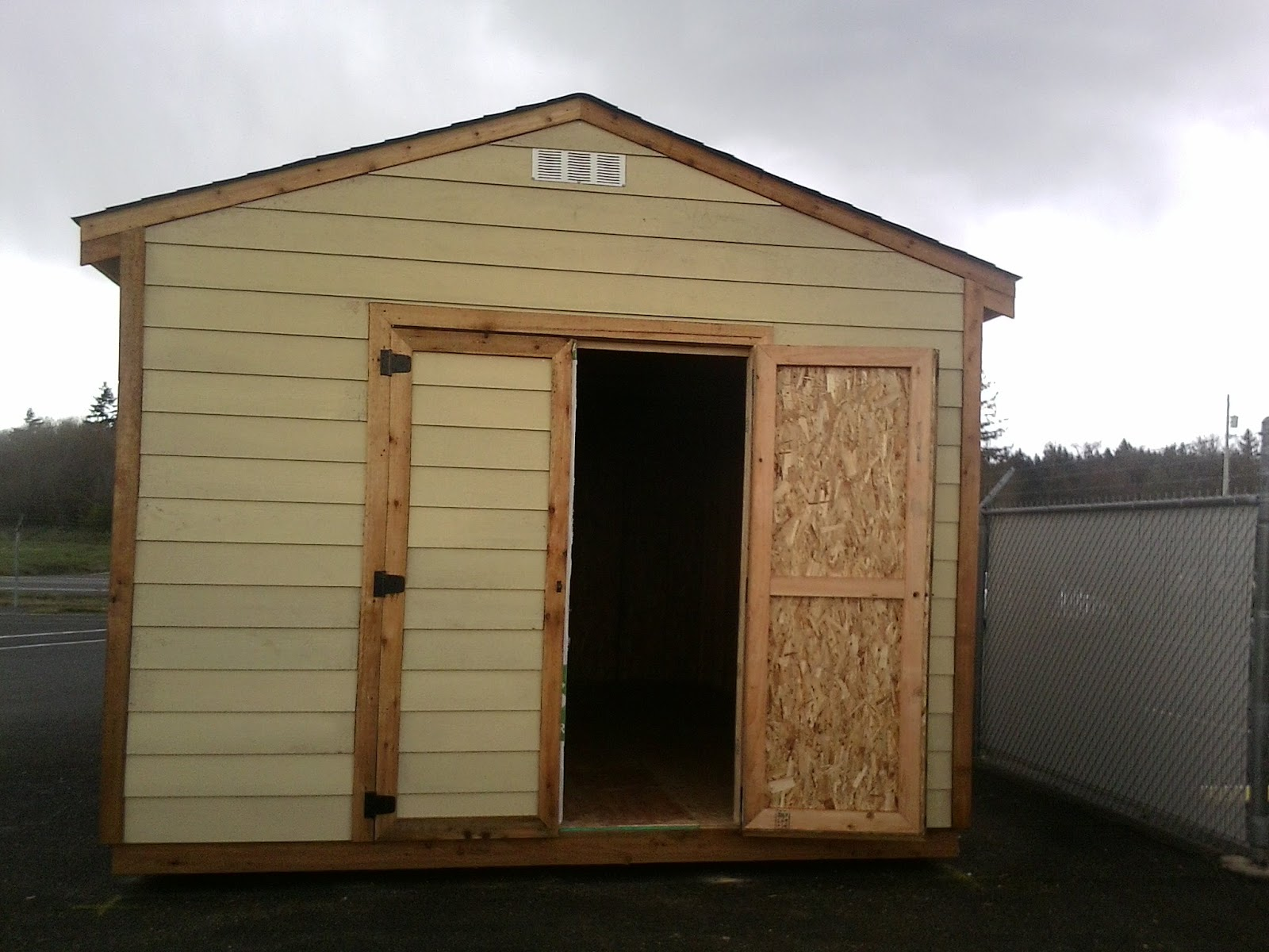 Affordable storage sheds gable style sheds for Affordable storage sheds