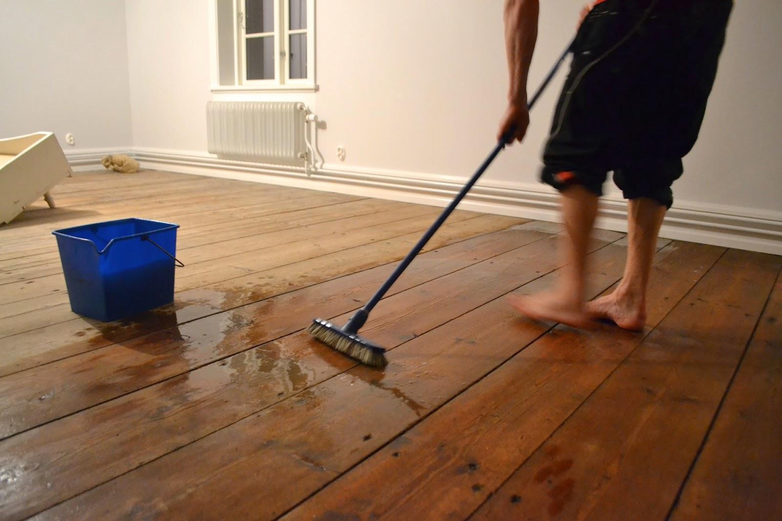 Boåsen: Såpaskurade golv