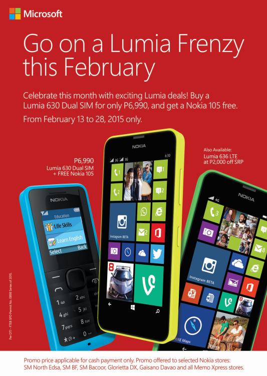 Lumia Frenzy Promo