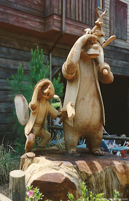 Statue Splash Mountain Mtn Brer Disney World