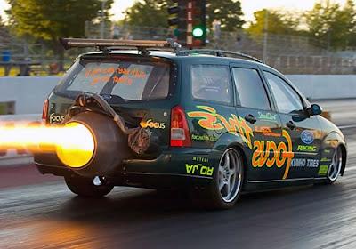 Jet Car Curve Circuit