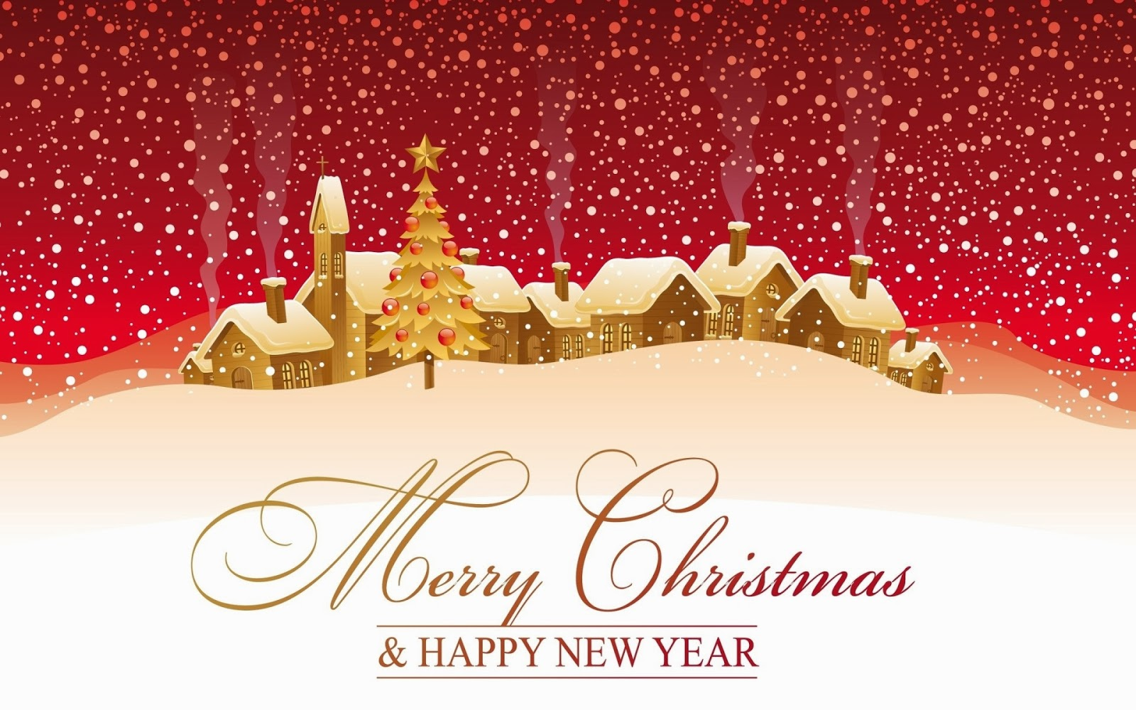 Wishing You A Very Merry Christmas And Happy New Year