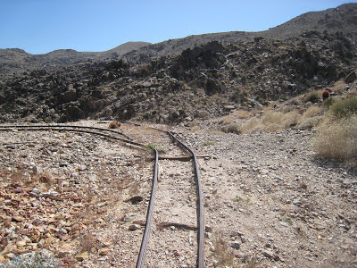 Contact Mine Rail Tracks Joshua Tree National Park