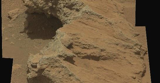 Marte scoperto il letto di un antico fiume io nell 39 universo - Letto di un fiume ...