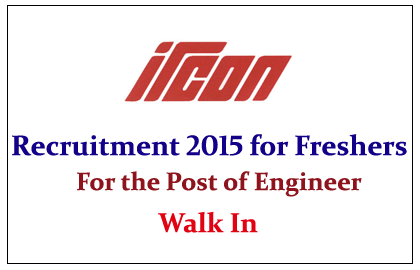 Ircon International Limited Recruitment 2015 for the Post of Engineer
