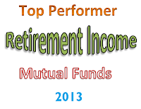 Best Performing Retirement Income Mutual Funds 2013