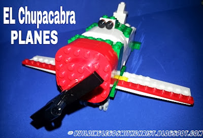 El Chupacabra LEGO Creation, PLANES LEGO Creation, LEGO Movie Creations