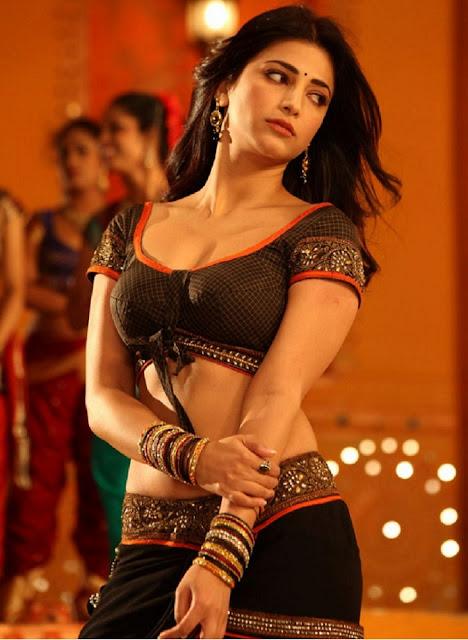 Shruti Hassan Hot Pics Navel Queens
