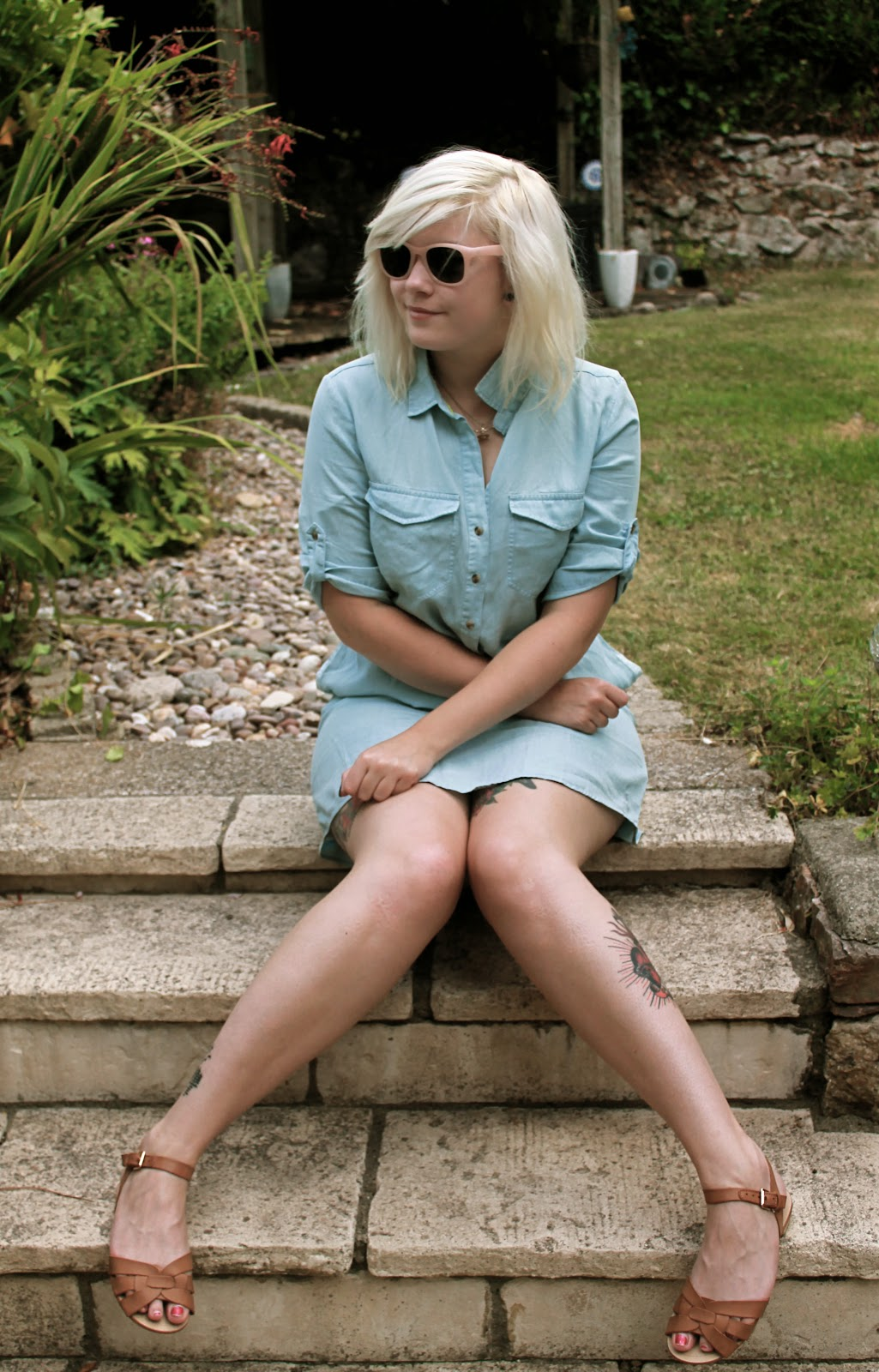 uk style blogger outfit post