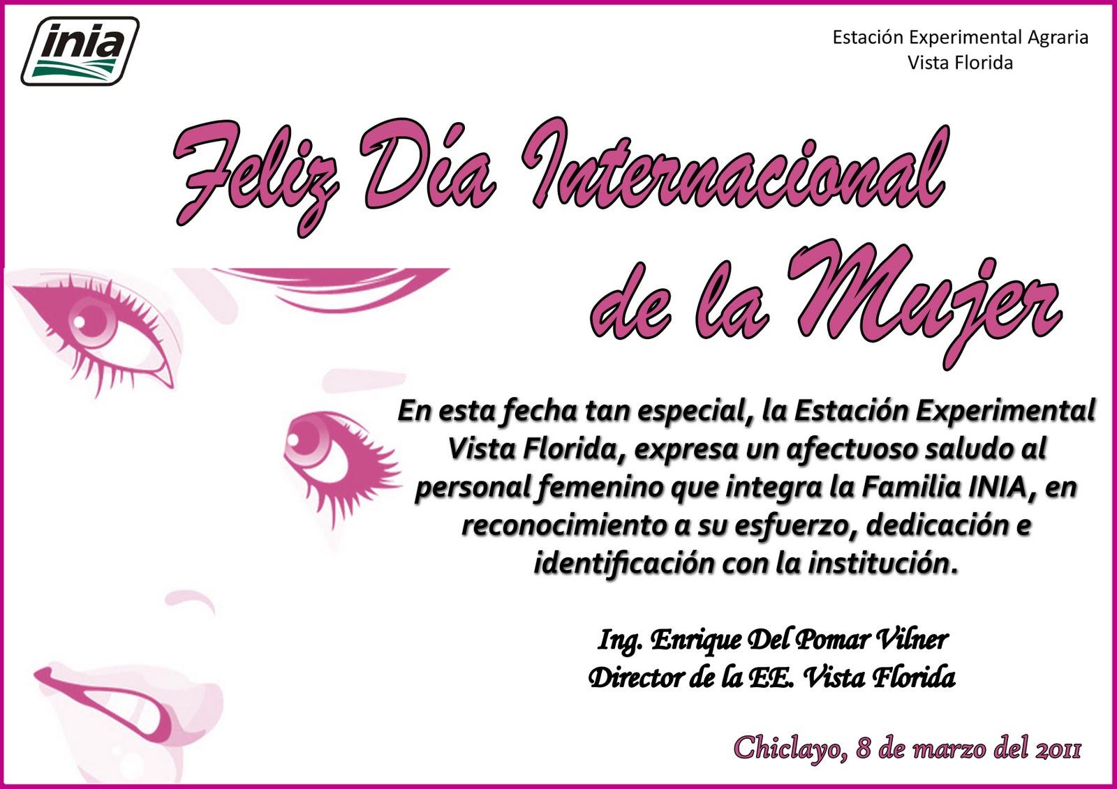 EEA. VISTA FLORIDA - CHICLAYO: Feliz Día Internacional de ...