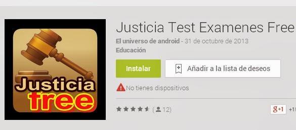 Justicia Test Examenes Free