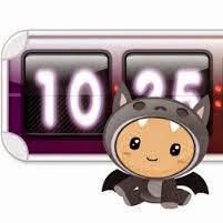 Widget kalender lucu dan imut dari Cuteki
