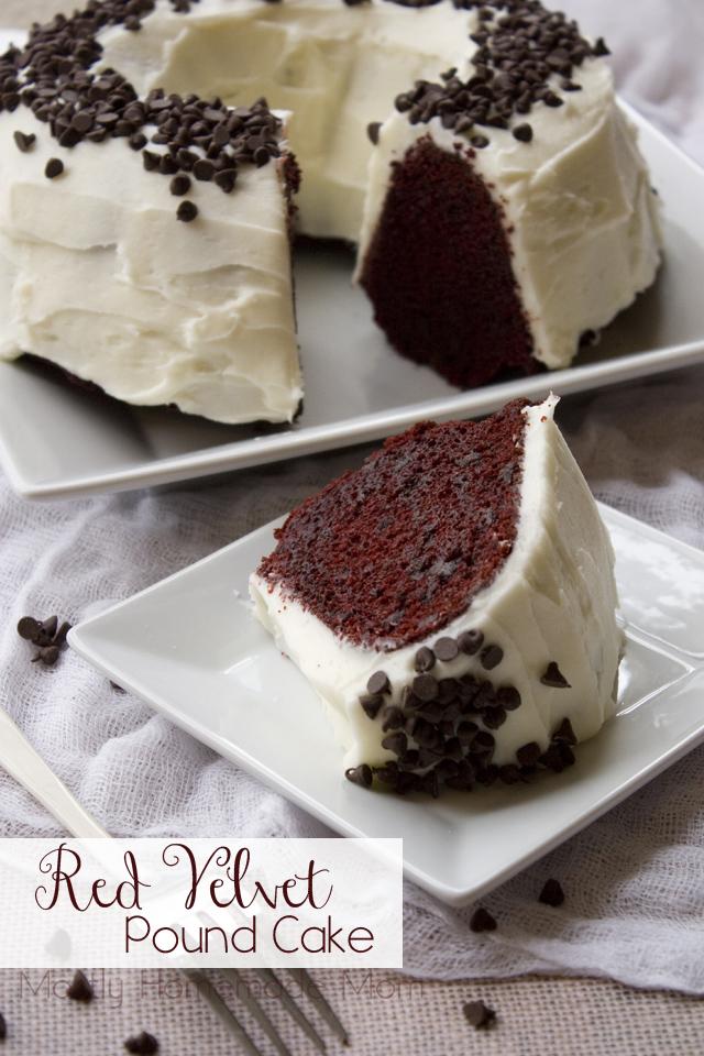 Red Velvet Pound Cake Mostly Homemade Mom