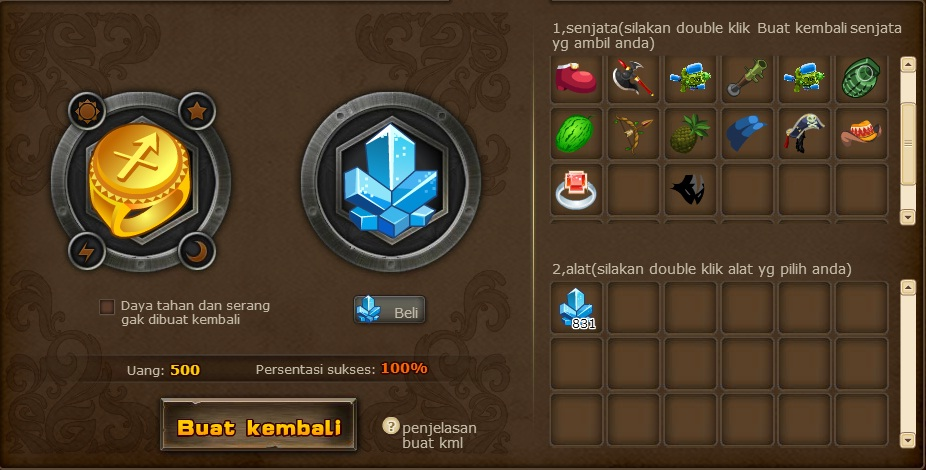 free  cheat game perjuangan semut