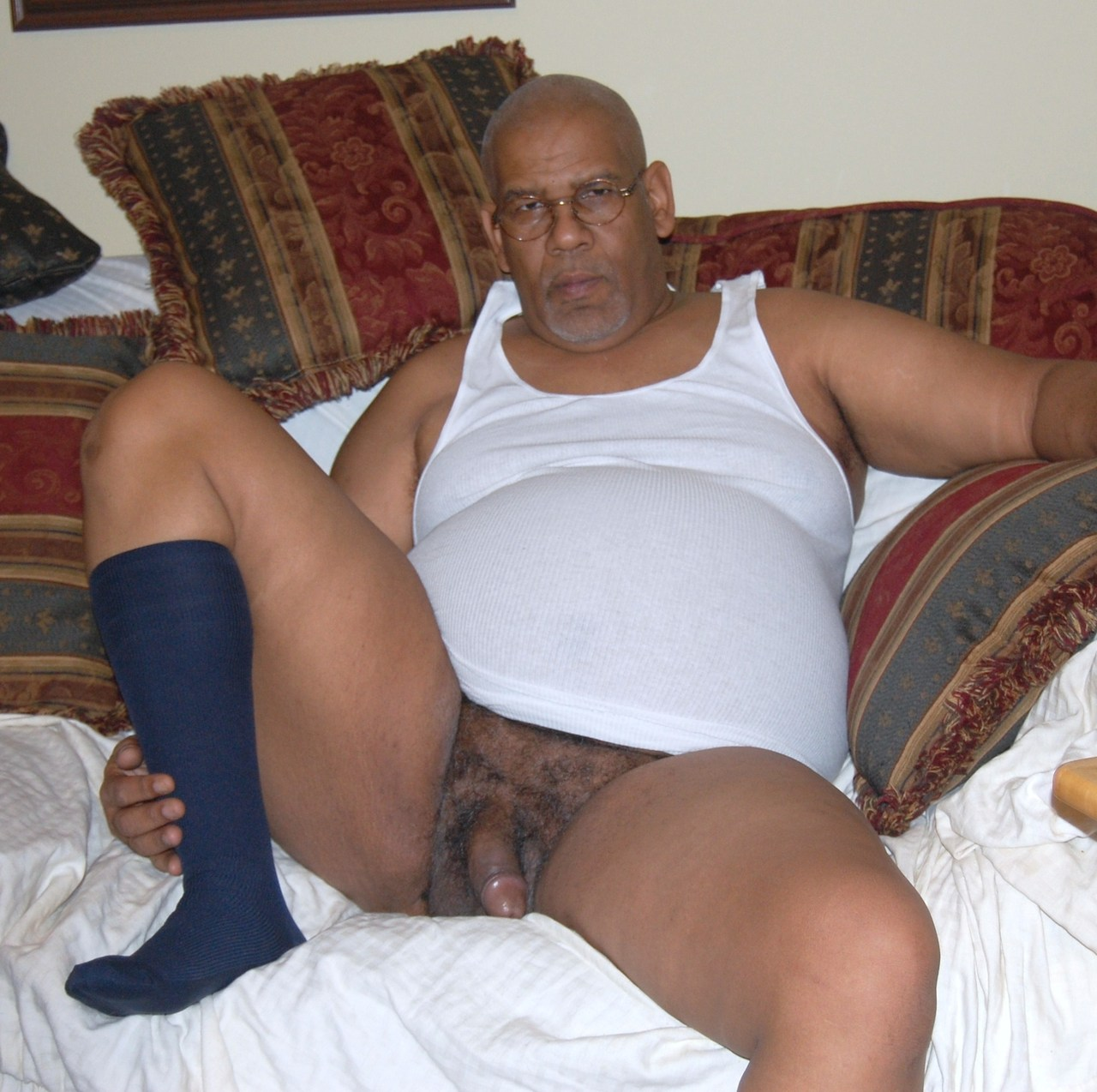 naked old man Gay black