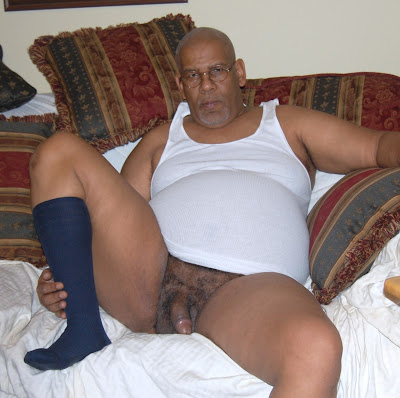 naked grampa - black gay mature
