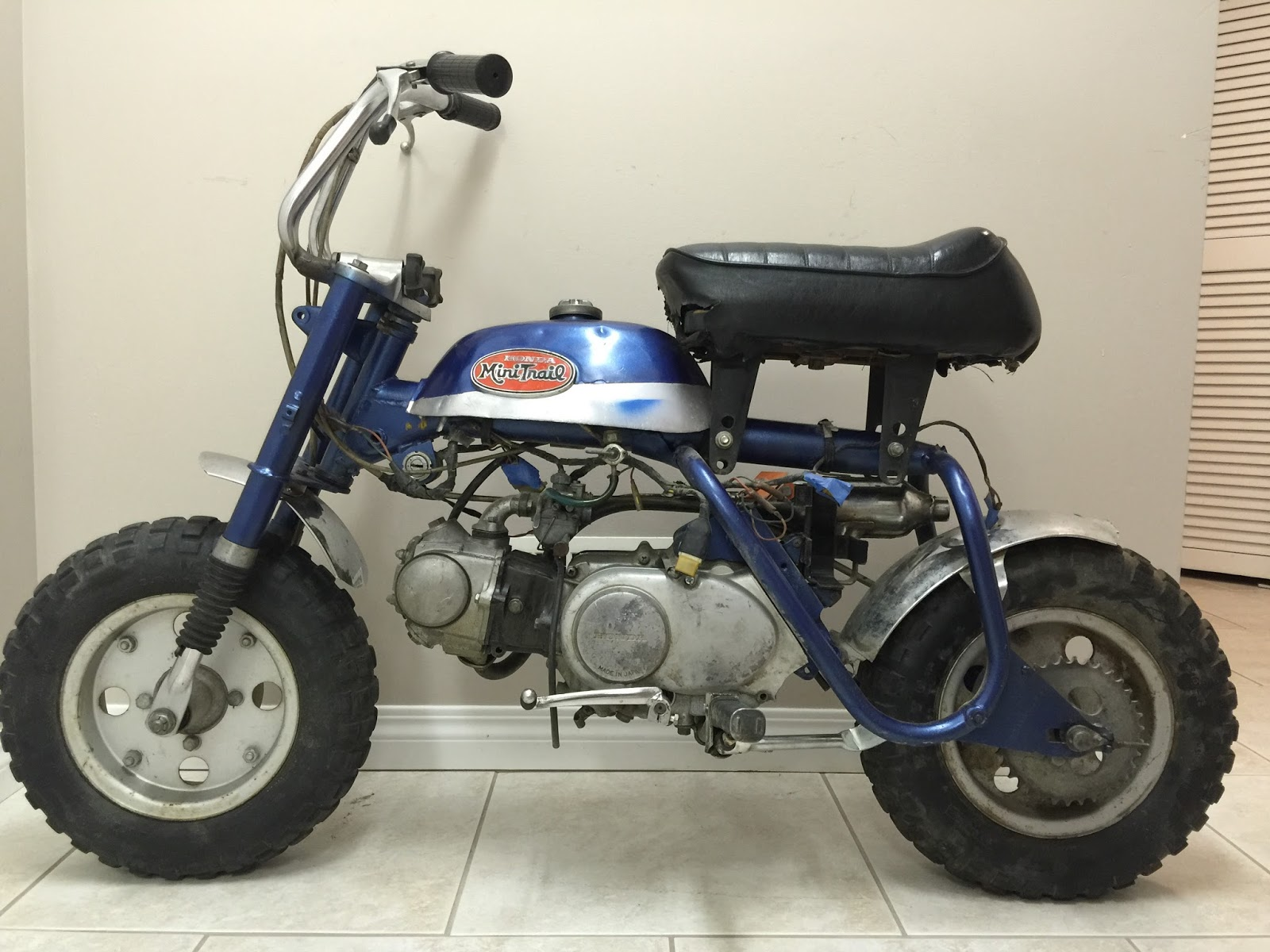 Its was an early production frame and motor (a.k.a.: Silver tag) Frame VIN:  Z50A-123843 / Engine VIN: Z50AE-123327 (K1 models begin at # 120001 -  Produced ...