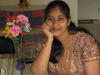 Very homely and cute looking Tamil Nadu girl.