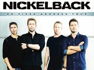 Nickelback 2015 Australian Tour