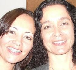Madalena Salles e eu