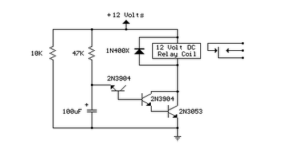 simple switch time delay circuit diagram wiring diagram