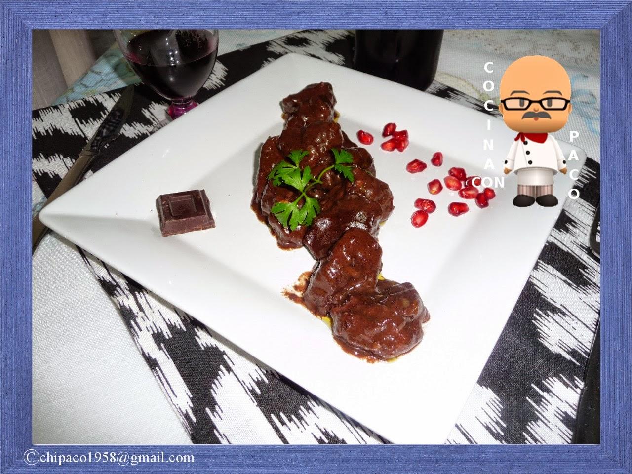 Cocina Con Paco Carrillera De Ternera Con Chocolate - Que-son-las-carrilleras-de-ternera