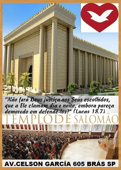 TEMPLO DE SALOMÃO SÃO PAULO.