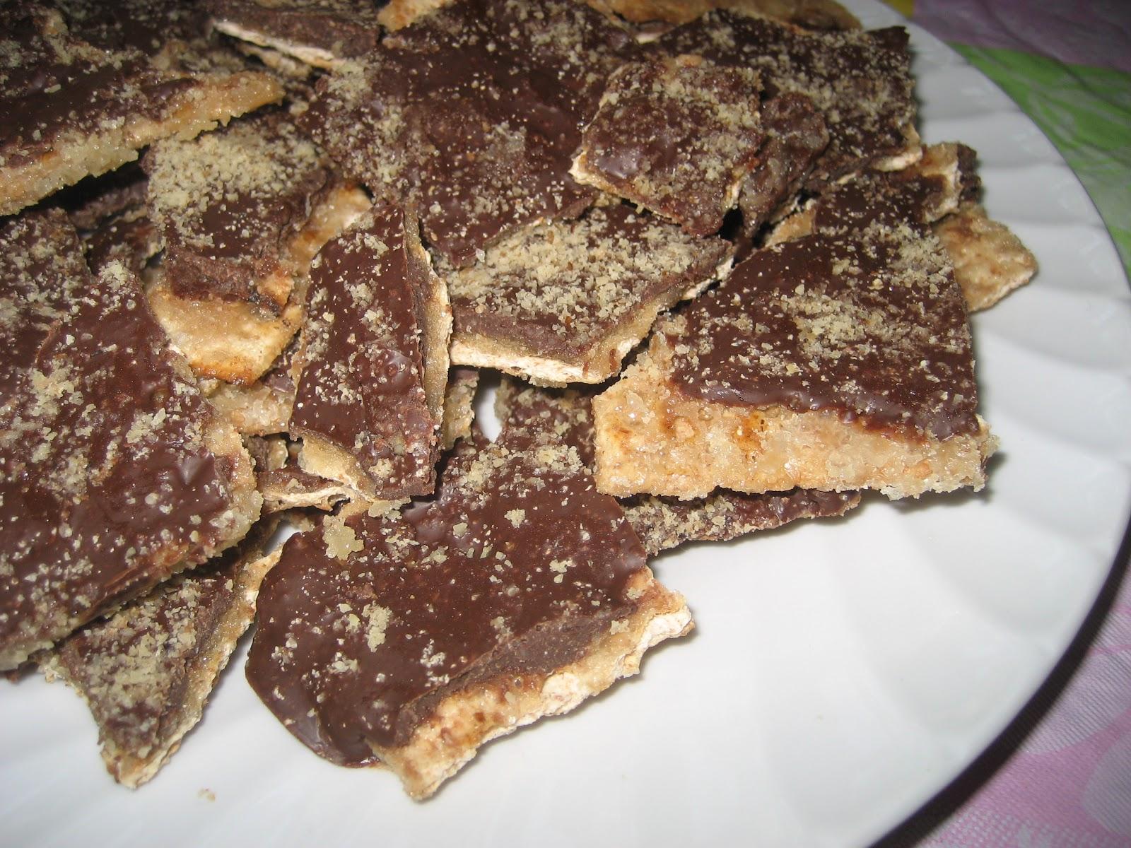Matzah Crack Toffee
