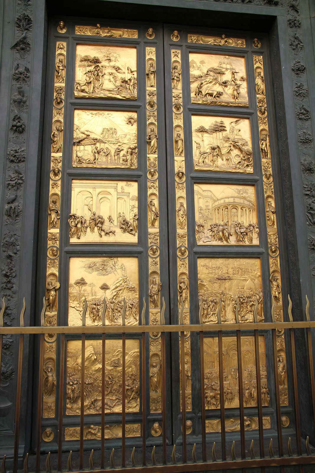 Lorenzo Ghiberti's Paradise Bronze Doors