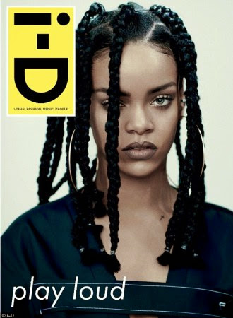 Rihanna Covers i-D magazine