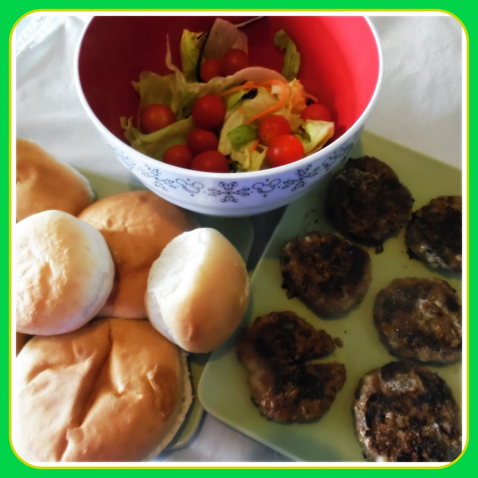 Homemade Healthy Burgers