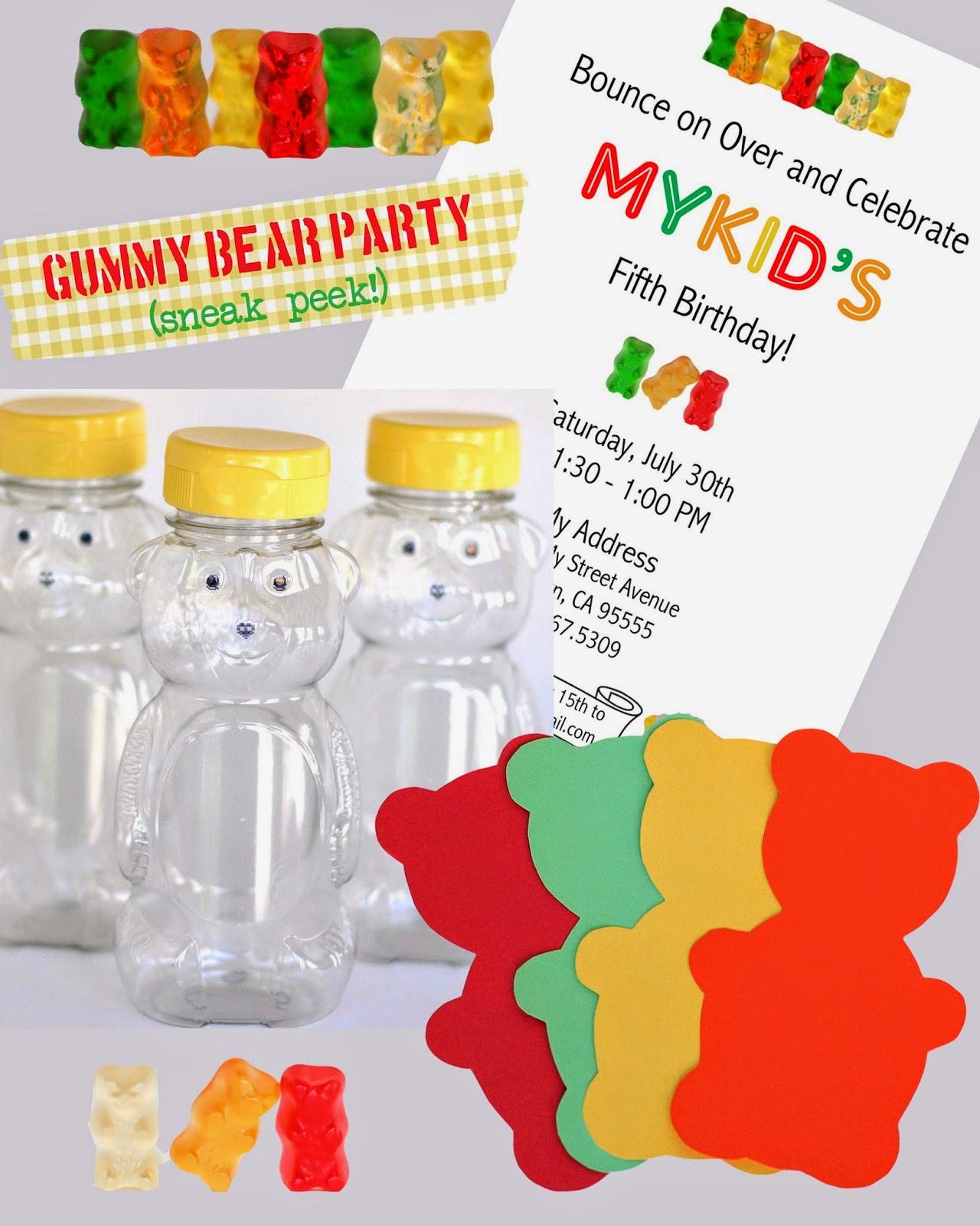Party // Gummy Bear Prep