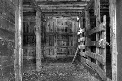 Sunset of Memories HDR by Dakota Visions Photography LLC Black and White Farm Barn Black Hills