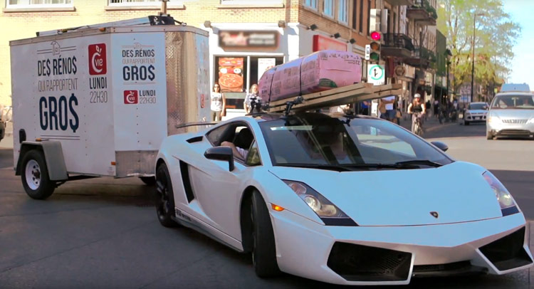 Who Said You Can T Use A Lamborghini Gallardo To Tow A