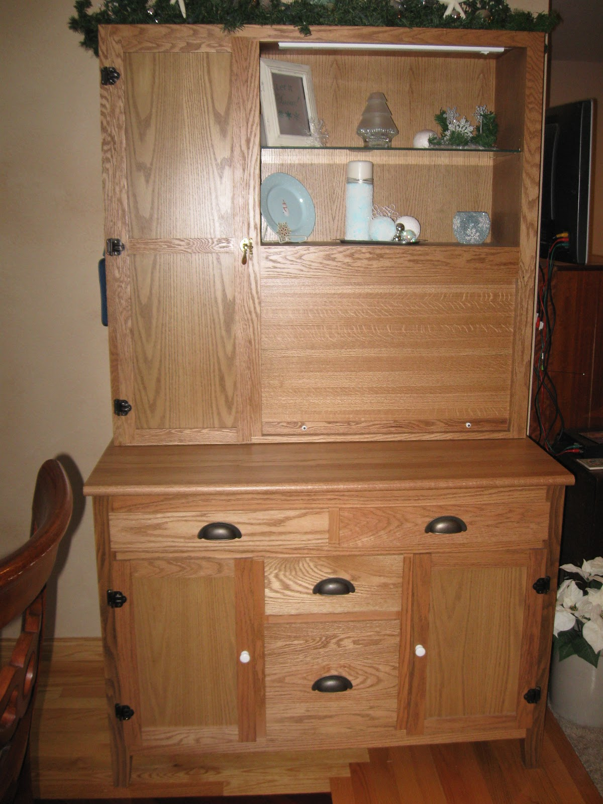 Thrifty Parsonage Living Custom Built Furniture