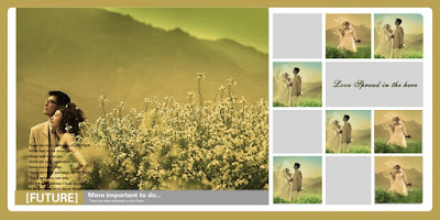 Royal Greenery Wedding Template