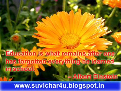 Education is what remains after one has forgotten everything he learned in school