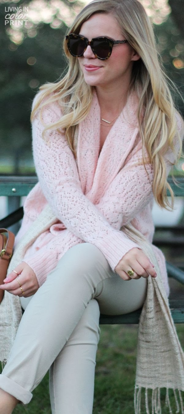 Cotton Candy Colored Sweater