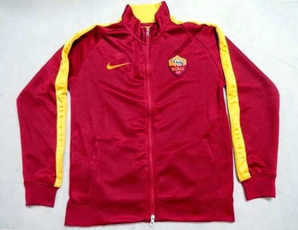 Nike N98 Roma Authentic Track Jacket 205 - Team RedKumquat