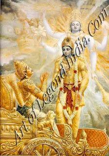 Krishna's advice to Arjuna