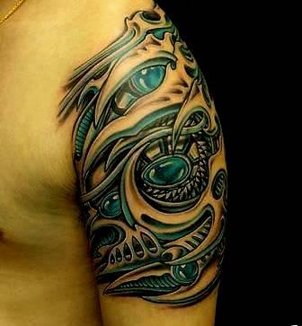 3D Art Tattoo Design