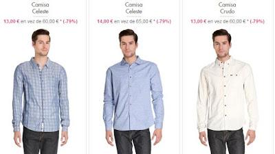 Camisas 13 euros