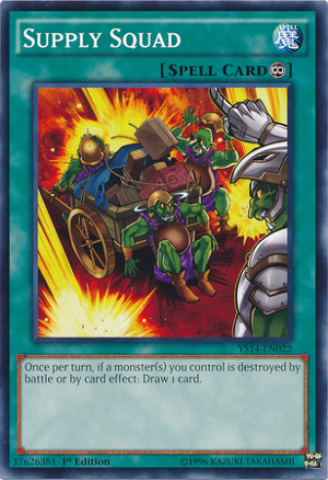 Supply Squad Yugioh