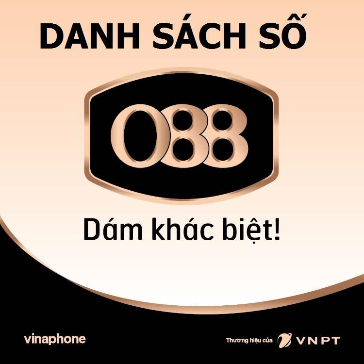 Danh sách số VinaPhone 088