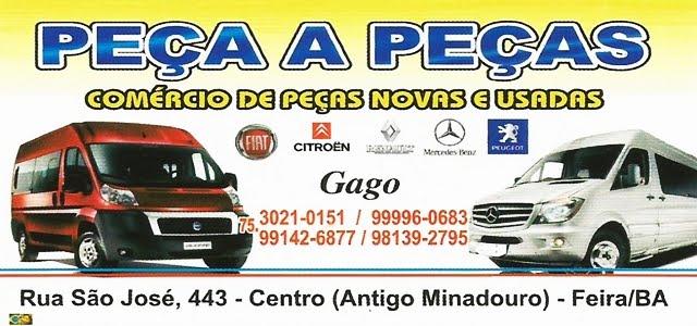 PEÇA A PEÇAS COMÉRCIO DE PEÇAS NOVAS E USADAS