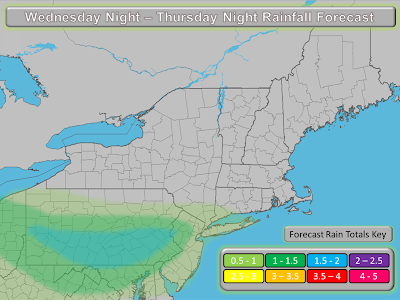 Northeast Weather Action: Even More Rain for The Region On Thursday