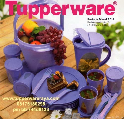 Katalog Tupperware Activity Maret 2014