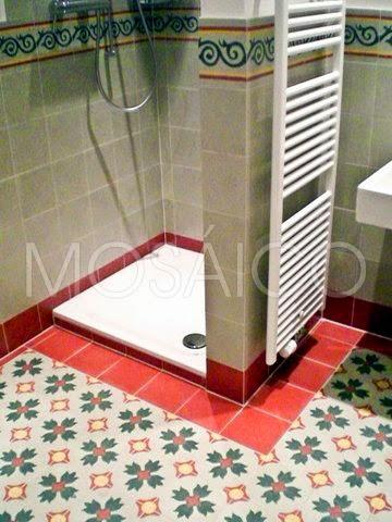 Mosaico Zementfliesen : Im Trend: Badetempel für Ihr Zuhause