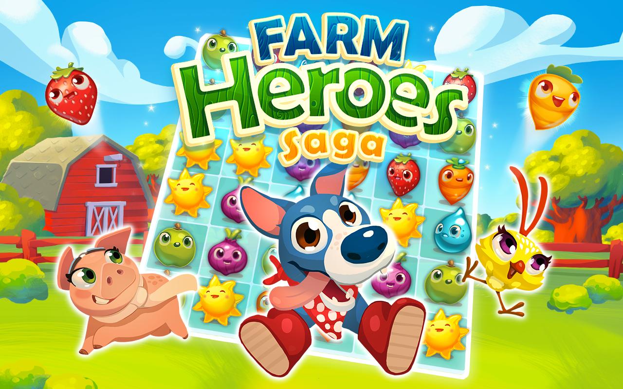 Farm Heroes Saga gratis en dispositivos móviles