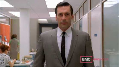 Jon Hamm as Don Draper of AMC's Mad Men